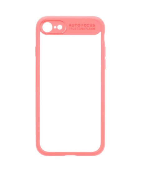 Чехол для iPhone InterStep iPhone 7/8 PURE-CASE ADV розовый
